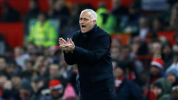 It was another frustrating afternoon for Manchester United boss Jose Mourinho (Martin Rickett/PA)