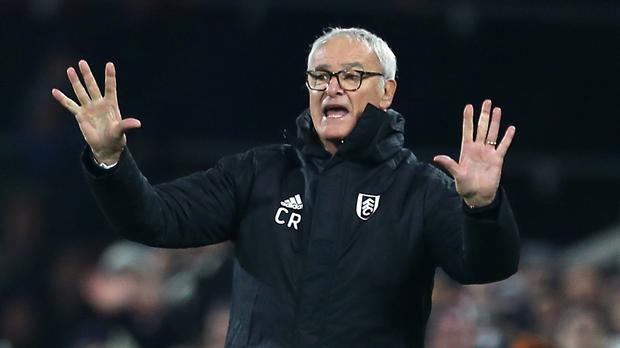 Claudio Ranieri delivered a win on his first game in charge of Fulham (Steven Paston/PA)
