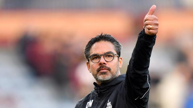David Wagner was pleased with his side's consistency against Wolves (Anthony Devlin/PA)