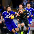 Cardiff's Harry Arter (left) (Simon Galloway/PA)
