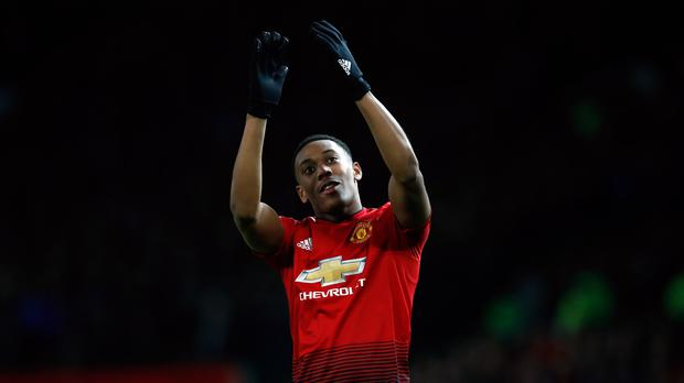Anthony Martial has established himself as a key player for Manchester United this season (Martin Rickett/PA).