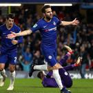 Cesc Fabregas expects to stay at Chelsea for the rest of the season (Nick Potts/PA)