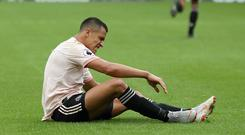 Alexis Sanchez is set for a lengthy absence (Martin Rickett/PA)