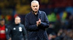 Jose Mourinho admits Manchester United face big tests in the transfer market (Martin Rickett/PA)