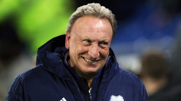 Cardiff manager Neil Warnock celebrates his 70th birthday on Saturday with the Bluebirds out of the Premier League relegation zone (Nick Potts/PA)