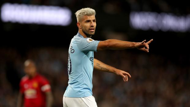 Sergio Aguero's fitness is a concern for Manchester City (Nick Potts/PA)