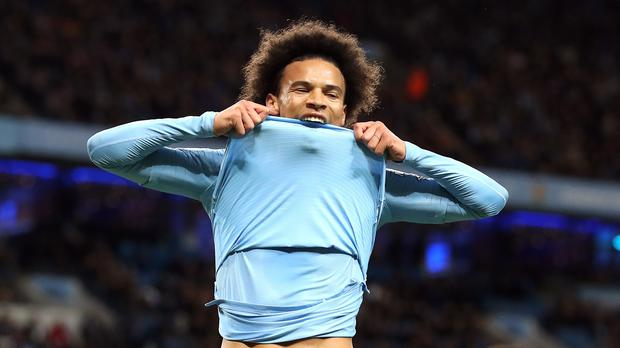Leroy Sane has been in fine form for Manchester City (Martin Rickett/PA)