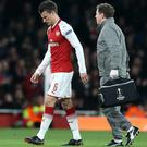Defender Laurent Koscielny is stepping up his recovery from Achilles surgery (Nigel French/PA)