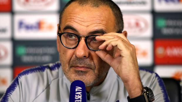 Maurizio Sarri forecast difficulties at Chelsea – they have just come later than he anticipated (John Walton/PA)