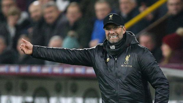 Liverpool manager Jurgen Klopp (Nigel French/PA).