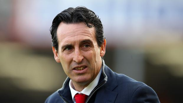 Unai Emery will not have laughed off newspaper reports about some members of his squad (John Walton/PA)