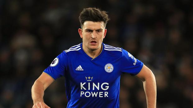 Leicester City's Harry Maguire was wanted by Manchester United. (Mike Egerton/PA)