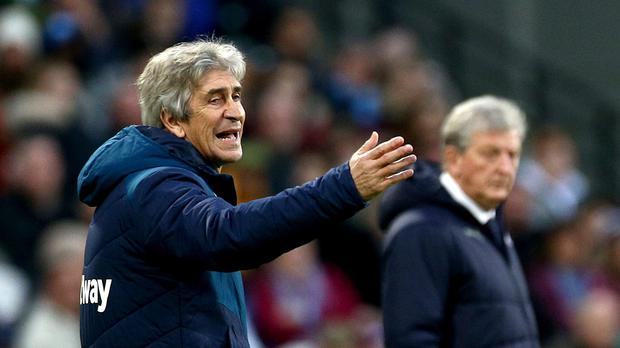 West Ham manager Manuel Pellegrini is feeling confident after his side saw off Crystal Palace (Yui Mok/PA).