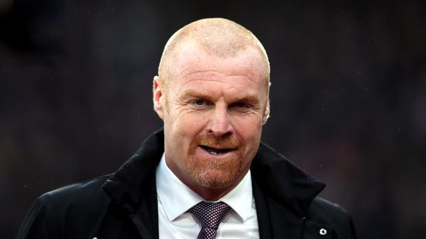Burnley manager Sean Dyche was relieved to see his side pick up the victory (John Walton/PA)