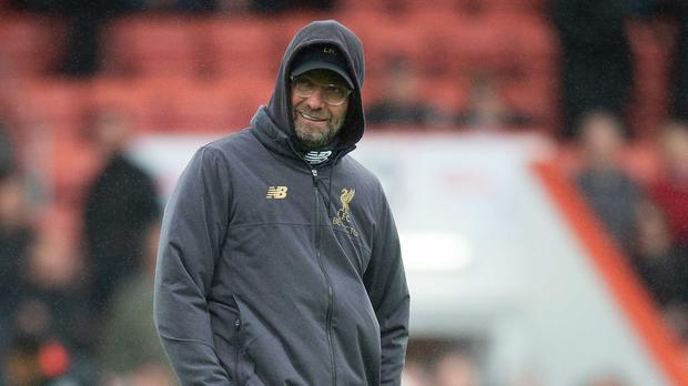 Jurgen Klopp, pictured, has put Liverpool's steady progress down to improved control (Mark Pain/PA)