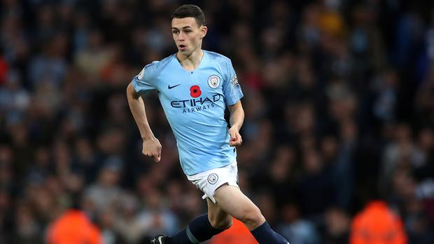 Phil Foden will remain with Manchester City until at least 2024 (Nick Potts/PA)