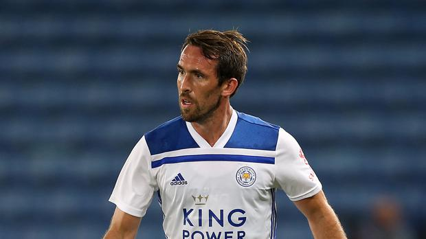 Leicester's Christian Fuchs is yet to feature in the Premier League this season (Barrington Coombs/PA)