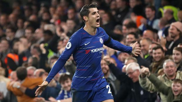 Alvaro Morata has been linked with a return to Spain (Adam Davy/PA)