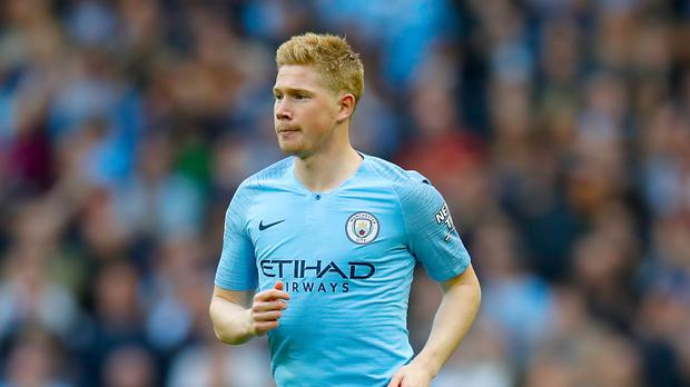 Kevin De Bruyne is close to a Manchester City return (Martin Rickett/PA)