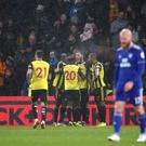 Watford's Gerard Deulofeu was the star of the show (Yui Mok/PA)