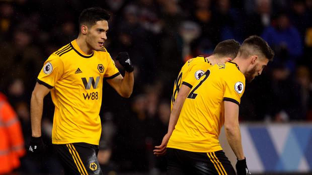 Raul Jimenez scored in Wolves' win (Aaron Chown/PA)