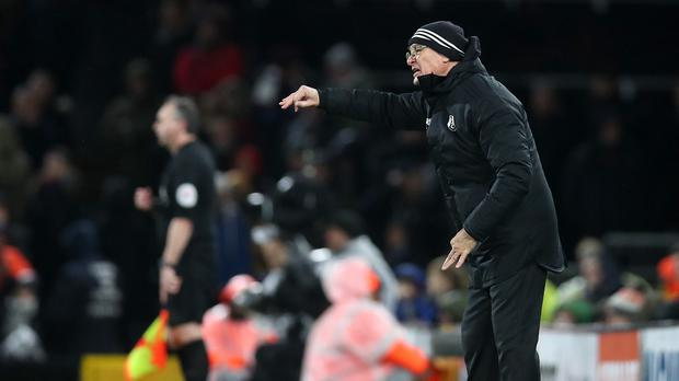 Claudio Ranieri could not prevent Fulham slipping to defeat (Chris Radburn/PA)