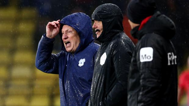 Neil Warnock is eager for a Cardiff away win (Yui Mok/PA)