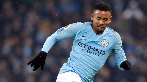 Gabriel Jesus helped Manchester City get back to winning ways in the Premier League (Martin Rickett/PA)