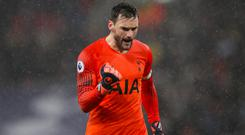 Hugo Lloris believes Tottenham can avenge their Premier League derby defeat at Arsenal with victory in the Carabao Cup (John Walton/PA)