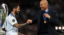 Isco is subject of transfer speculation (Mike Egerton/PA)