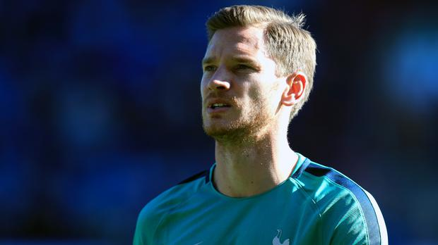 Tottenham have activated an option to extend Jan Vertonghen's contract until 2020 (Mike Egerton/PA)
