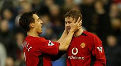 Gary Neville is among the former team-mates to back Ole Gunner Solskjaer's appointment as caretaker manager at Manchester United (Nick Potts/PA)