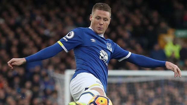 Everton's James McCarthy could be set for a return after 11 months out with a broken leg (Peter Byrne/PA).