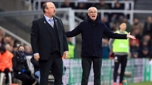 Rafael Benitez (left) and Claudio Ranieri's sides earned a point apiece (Owen Humphreys/PA)