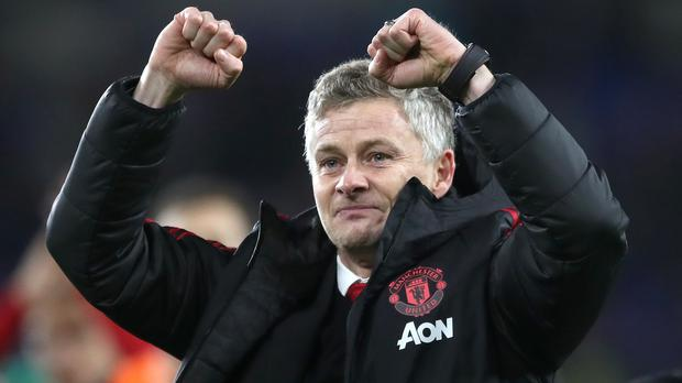 Manchester United interim manager Ole Gunnar Solskjaer saw his side beat Cardiff 5-1 on Saturday (Nick Potts/PA)