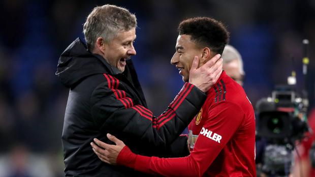 Ole Gunnar Solskjaer was thrilled by Manchester United's performance against Cardiff (Nick Potts/PA)