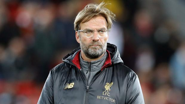 Liverpool manager Jurgen Klopp insists no-one can feel safe in the title race (Martin Rickett/PA).