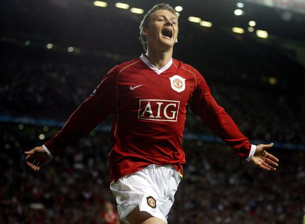 Ole Gunnar Solskjaer was a fan favourite during his playing days (Martin Rickett/PA)