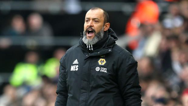 Wolves boss Nuno Espirito Santo is ready to upset Tottenham. (Steve Paston/PA)