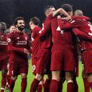 Liverpool have become the team to beat in the Premier League (Nick Potts/PA)