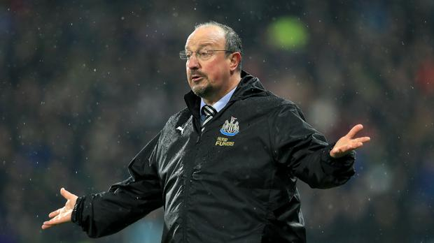 Newcastle manager Rafael Benitez is refusing to talk about the January transfer window (Mike Egerton/PA)