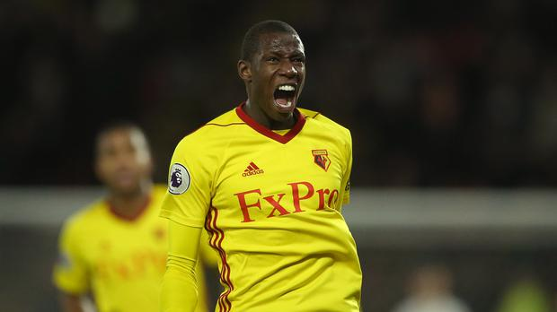 Adboulaye Doucoure is reportedly on the radar of other clubs (Scott Heavey/PA)