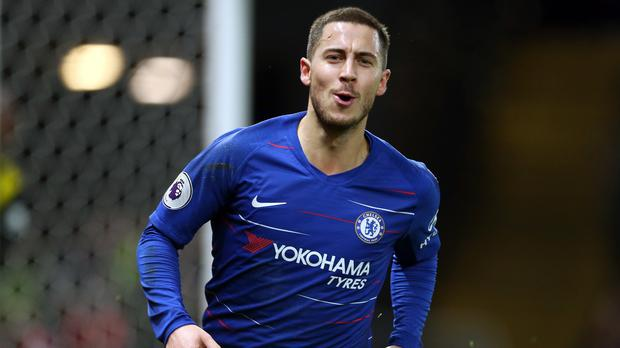 42be4009d9c Maurizio Sarri wants the future of Eden Hazard resolved (Steven Paston PA)