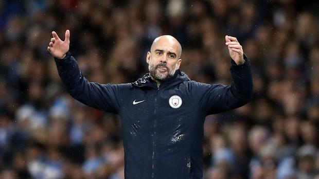 Pep Guardiola's Manchester City suffered a frustrating Christmas (Martin Rickett/PA)