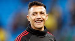 Alexis Sanchez is back in the frame for Manchester United (Martin Rickett/PA)