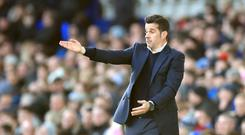 Marco Silva was baffled by Everton's display (Peter Byrne/PA)