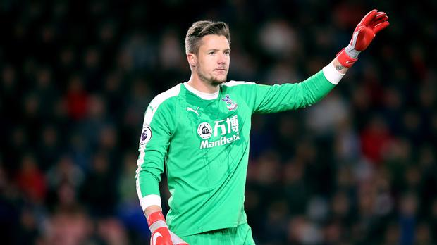 Wayne Hennessey played the full 90 minutes in Crystal Palace's FA Cup win against Grimsby (Nigel French/PA)