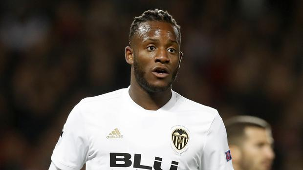 Michy Batshuayi is set to have his Valencia loan cut short (Martin Rickett/PA)