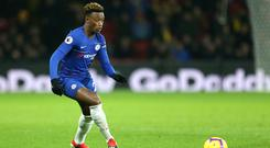 Callum Hudson-Odoi has been linked with a move from Chelsea to Bayern Munich (Steven Paston/PA)