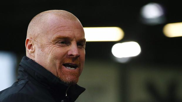 Burnley manager Sean Dyche believes they have been due a slice of luck (Dave Thompson/PA)